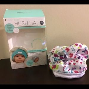 🎄 HUSH HAT FOR INFANTS SIZE: MEDIUM (2-4 months)